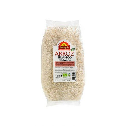 Arroz blanco redondo bio 1 kg. Biográ