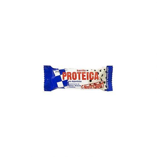 Barrita proteica de cookies. Nutrisport
