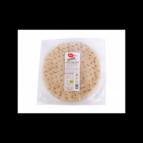 Base de pizza de trigo sarraceno sin gluten bio 250 gr. El Granero