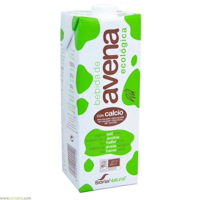 Bebida de avena + calcio 1l. Soria Natural