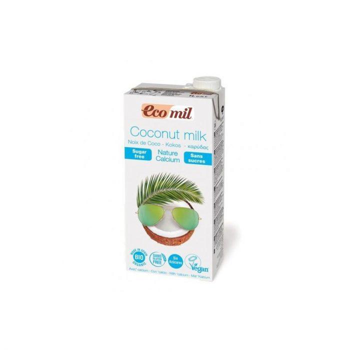 Bebida de coco + calcio 1l. Ecomil