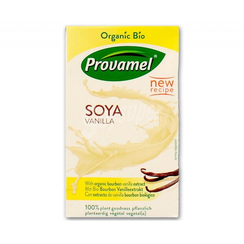 Bebida de soja de vainilla 250 ml. Santiveri