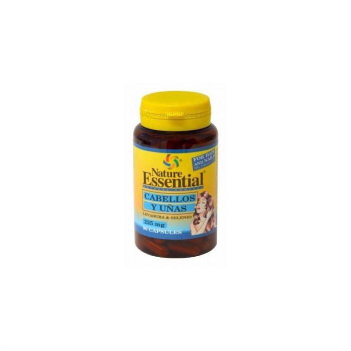 Cabellos y uñas 90 cápsulas 225 mg. Nature Essential