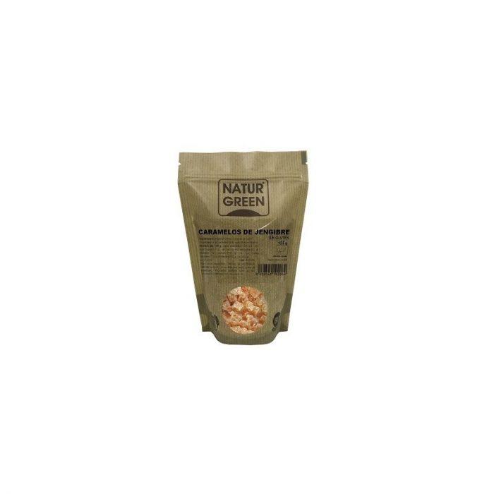 Caramelos de jengibre 125 gr. Naturgreen