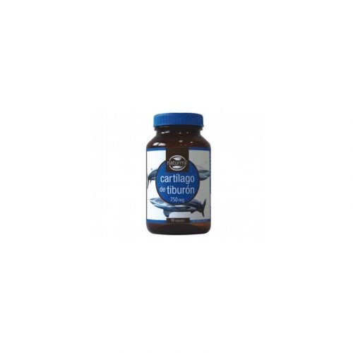 Cartílago de tiburón 90 cápsulas 750 mg.Naturmil
