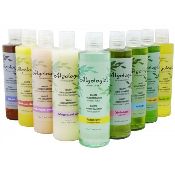 Champú cabello graso suero fitomarino 300 ml. Algologie