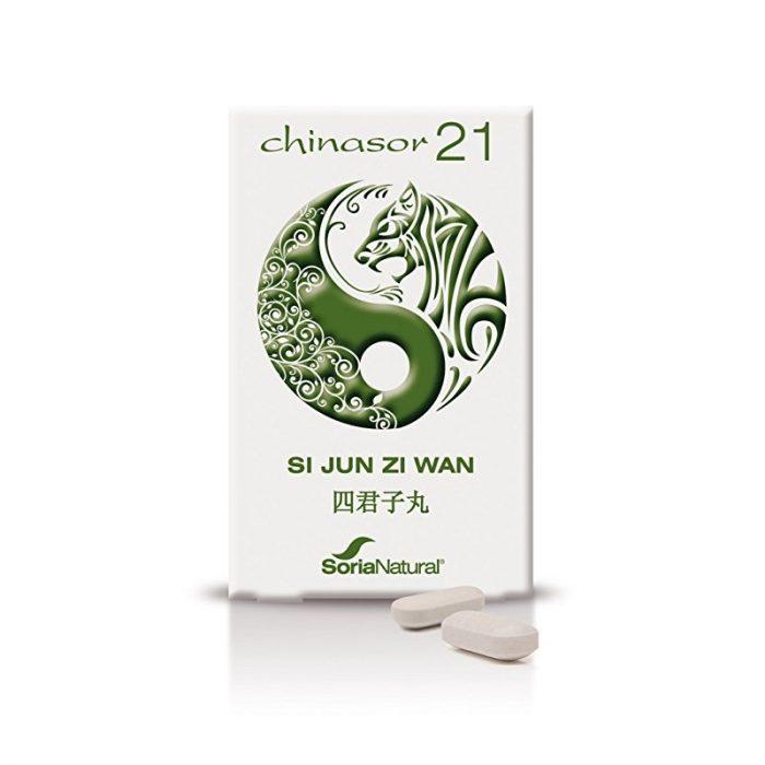 Chinasor 21 Si Jun Zi Wan 30 comprimidos. Soria Natural