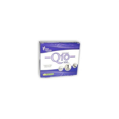 Coenzima Q10 + Vitamina E 30 cápsulas. Pinisan