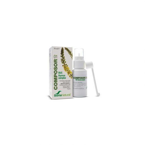 Composor 01 Buc Thymus 50 ml. Soria Natural