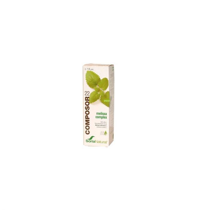 Composor 22 melissa complex 50 ml. Soria Natural