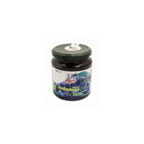 Compota de arándanos sin azúcar bio 320 gr. Finestra del Cielo
