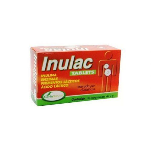 Inulac 30 comprimidos. Soria Natural