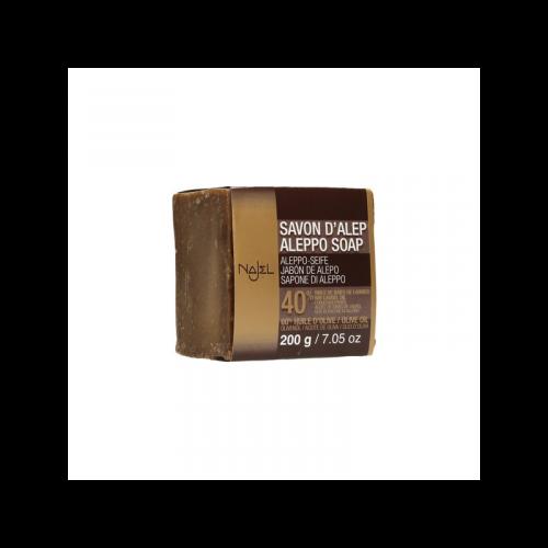 Jabón de alepo 40% 185 gr. Najel
