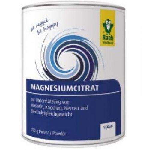 Magnesio citrato polvo 200 gr. Raab