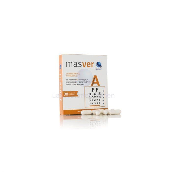 Masver con vitamina A 30 cápsulas. Mahen