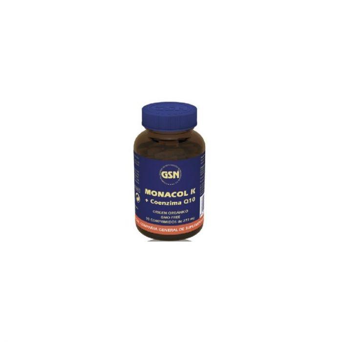 Monakol K + Coencima Q10 90 comprimidos de 273 mg. G.S.N.