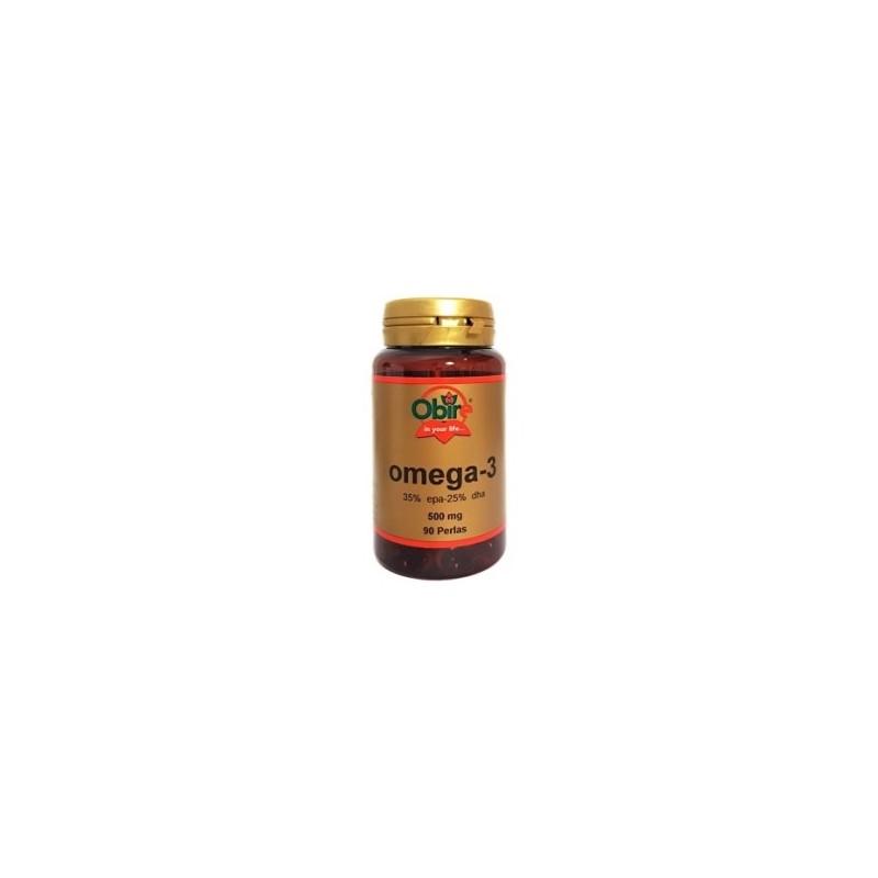 Omega 3 35% - 25% 500 mg. 90 perlas. Obire