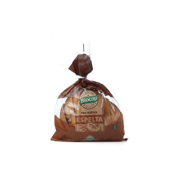 Pan rústico de espelta blando 350 gr. Biocop
