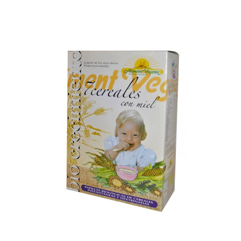 Pilla 7 cereales con miel bio 400 gr (6 meses). Aliment Vegetal