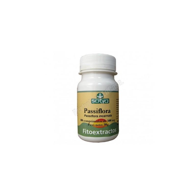 Pasiflora 100 comprimidos de 500 mg. Sotya