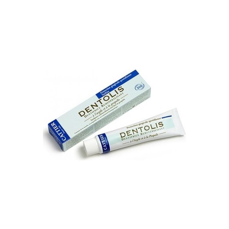 Pasta dental Dentolis própolis protección gingival 75 ml. Cattier París