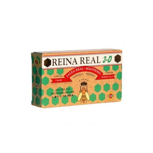 Reina real jalea real tercera edad 1800 mg. Robis