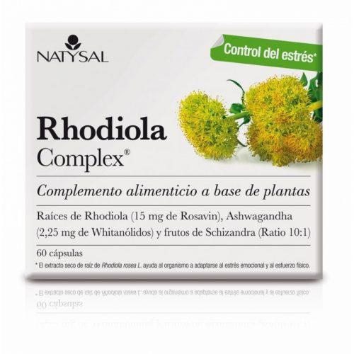 Rhodiola complex 60 cápsulas. Natysal