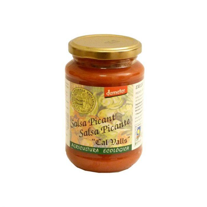 Salsa de tomate picante 350 gr. Cal Valls