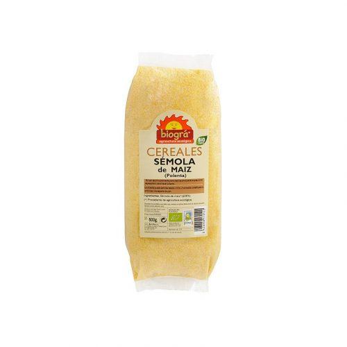 Sémola de maíz (polenta) bio 500 gr. Biográ