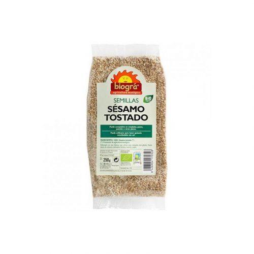 Semillas de sésamo tostado bio 250 gr. Biográ