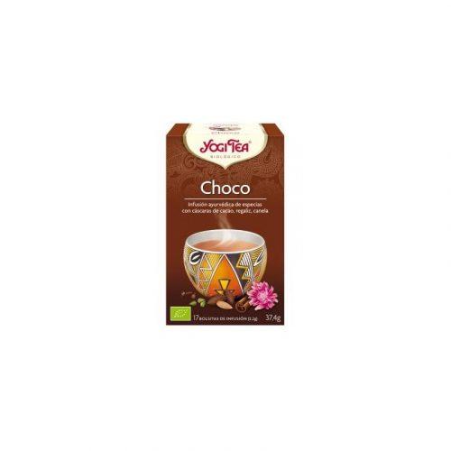 Té de chocolate, jengibre y canela 1 bolsitas 37.4 gr. Yogi Tea