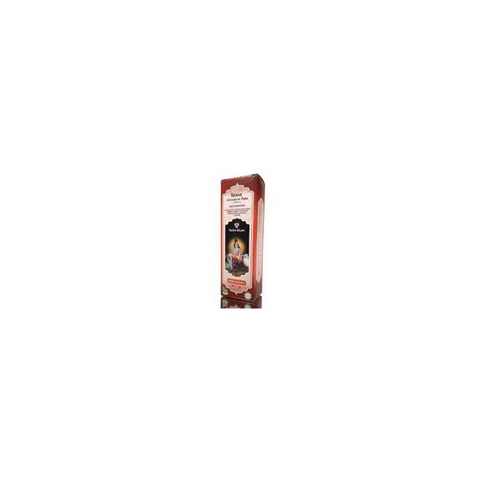 Henna color castaño oscuro polvo 100 gr. Radhe Shyam