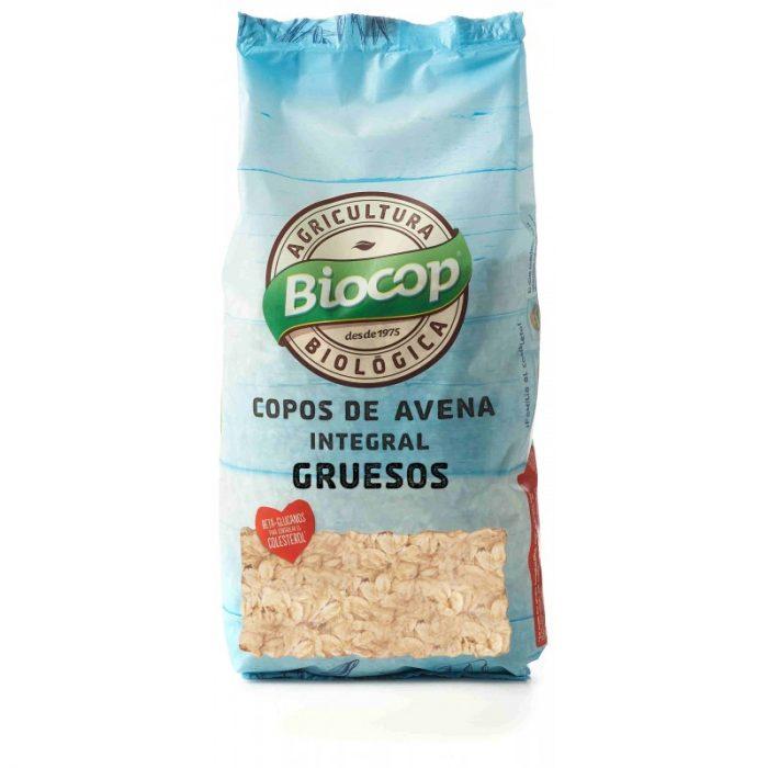 Copos de avena integral gruesos agricultura biológica 500 gr. Biocop