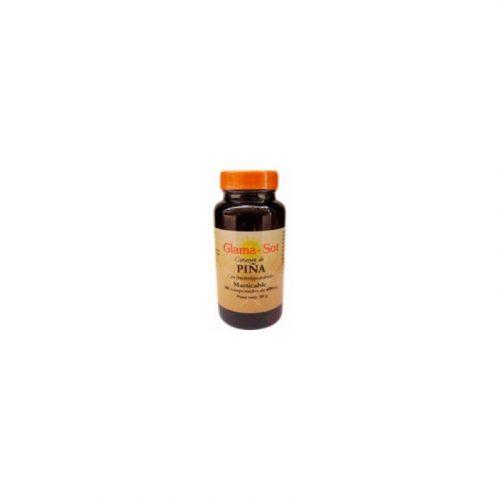 Corazón de piña masticable 600 mg. 100 comprimidos. Glama-Sot