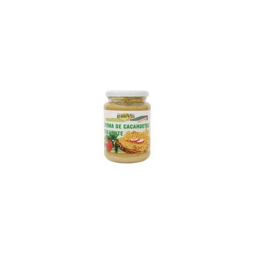 Crema de cacahuete crujiente 350 gr. El Granero