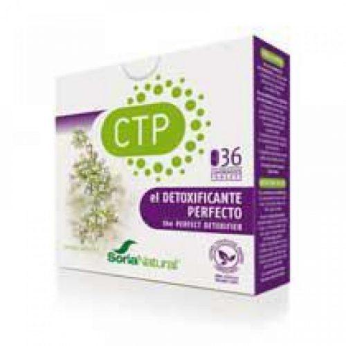 CTP Detoxor 36 comprimidos. Soria Natural