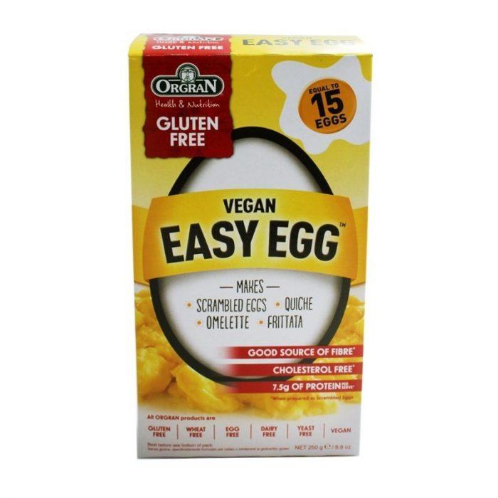 Easy vegan egg sin gluten 250 gr. Orgran