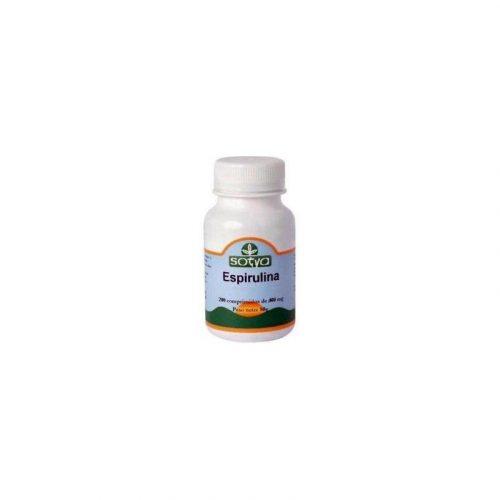 Espirulina 400 mg. 200 comprimidos. Sotya