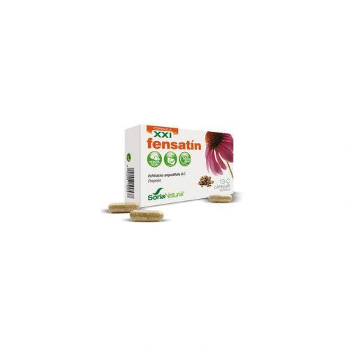 Fensatín XXI equinacea + propóleo 30 cápsulas. Soria Natural