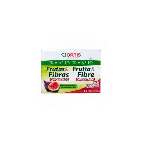 Frutas y fibra tránsito 12 cubos. Ortis