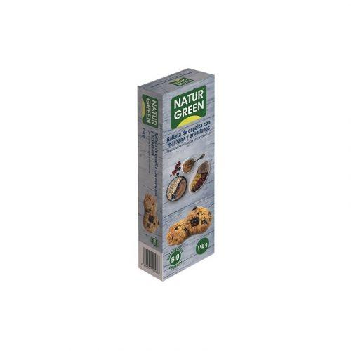 Galleta eco manzana sin azúcar 150 gr. Naturgreen