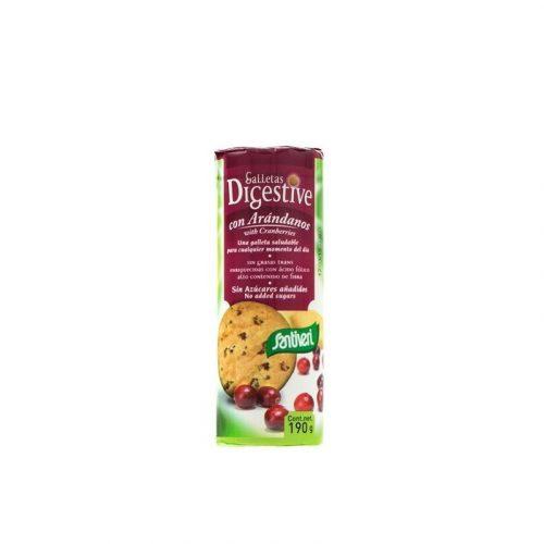 Galletas digestive arándanos 190 gr. Santiveri