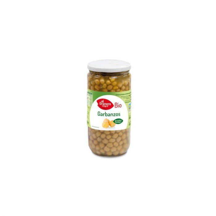Garbanzo cocido bio 660 gr. El Granero