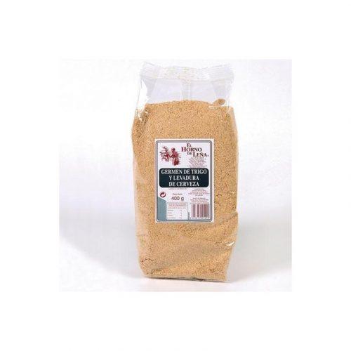 Germen de trigo y levadura de cerveza 400 gr. El Horno de Leña