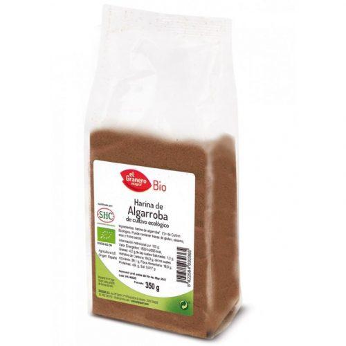 Harina de algarroba de cultivo ecológico 350 gr. El Granero