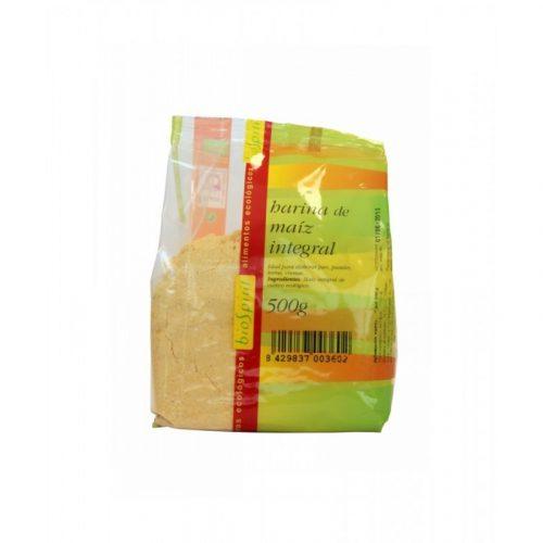 Harina de maíz integral 500 gr. Biospirit