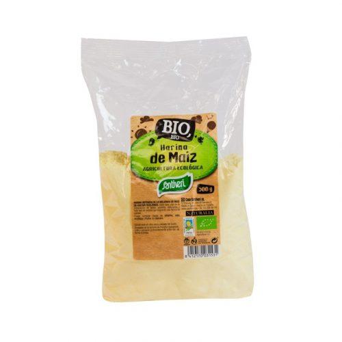 Harina de maíz bio 500 gr. Santiveri