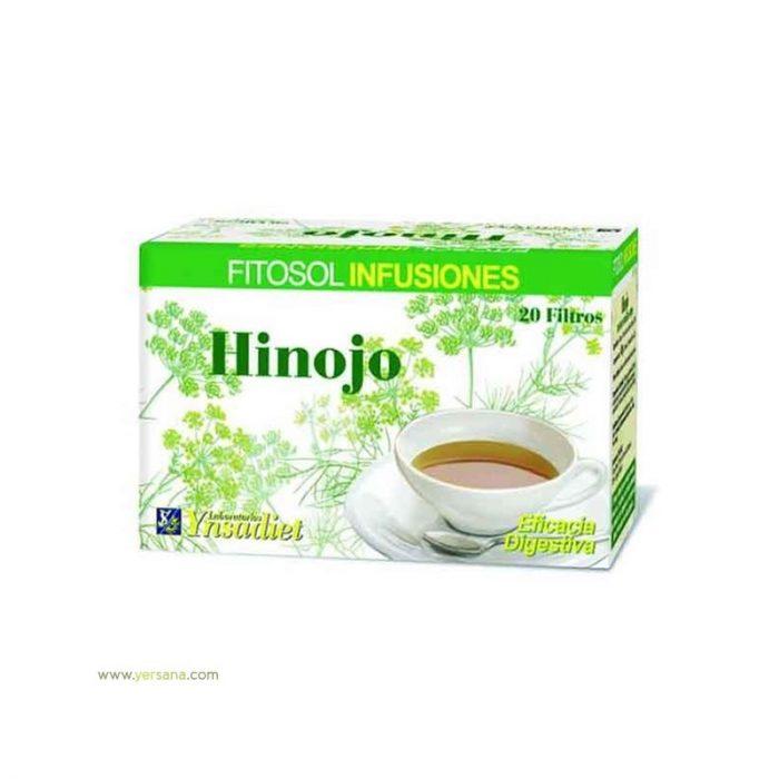 Hinojo Fitosol infusiones 20 filtros. Ynsadiet