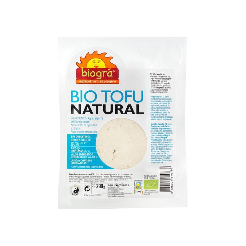 Tofu fresco natural bio 290 gr. Biográ
