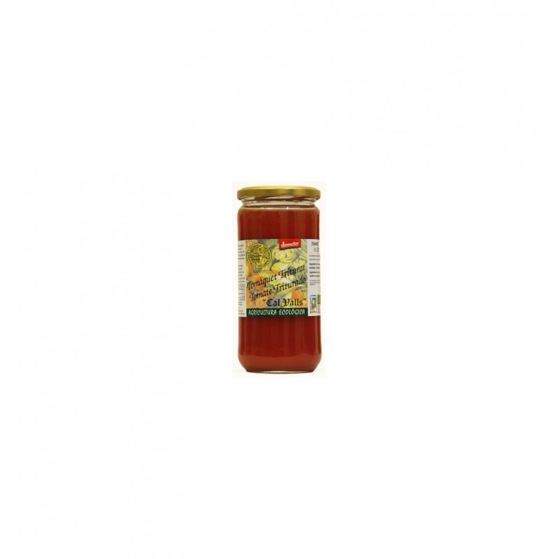 Tomate triturado natural bio 720 ml. Cal Valls